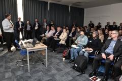 Cyber Expo Ireland. LtoR: Dermot Hayden, Sophie Corrigan and Peter Craig, Sophos.