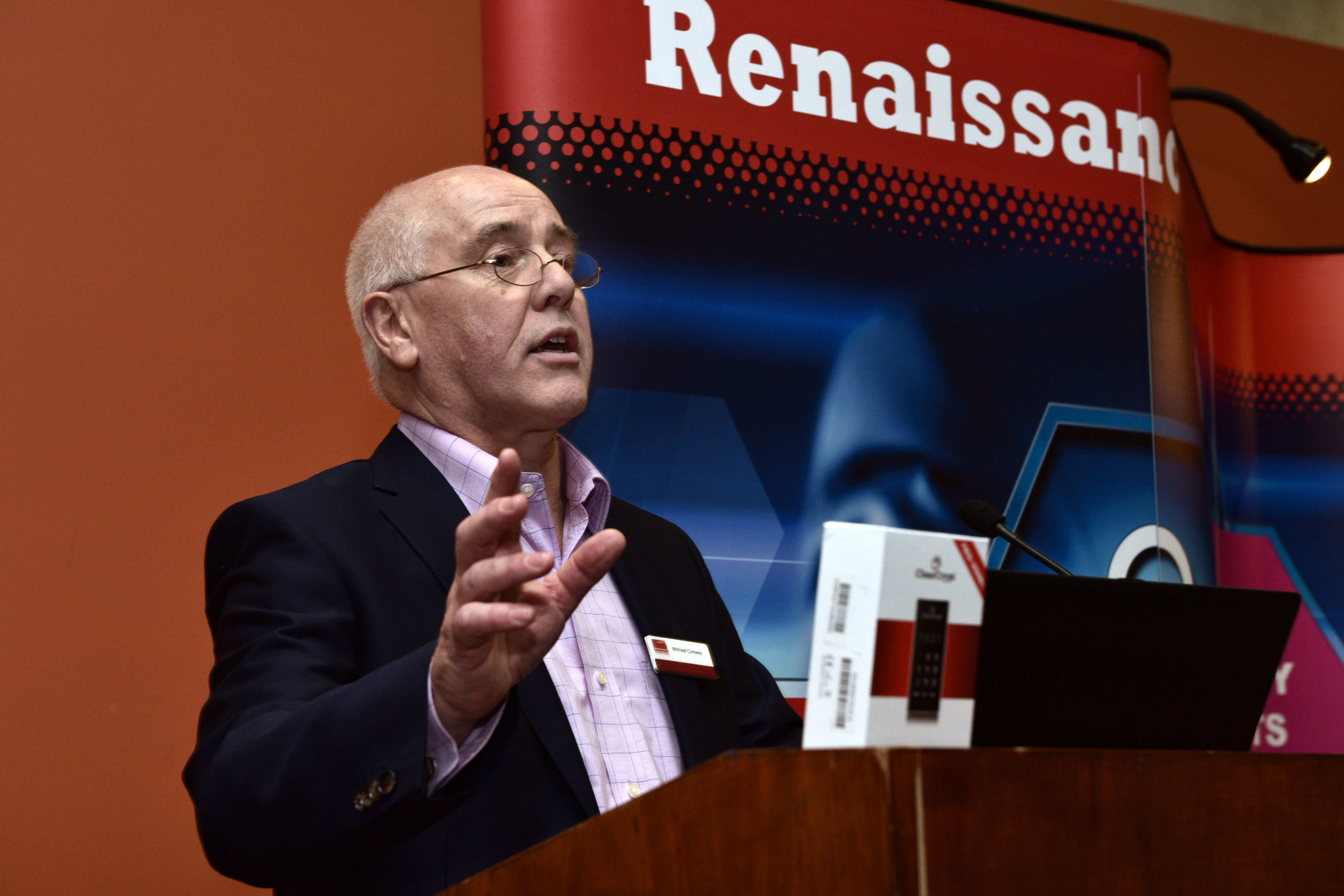 Cyber Expo Ireland. Michael Conway, Renaissance.