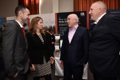 Cyber Expo Ireland.: Grant Clements and Camille Morgan, CA, Michael Conway, Renaissance and Des Powley, CA.